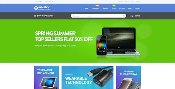 Amishop - Multipurpose WooCommerce WordPress Theme