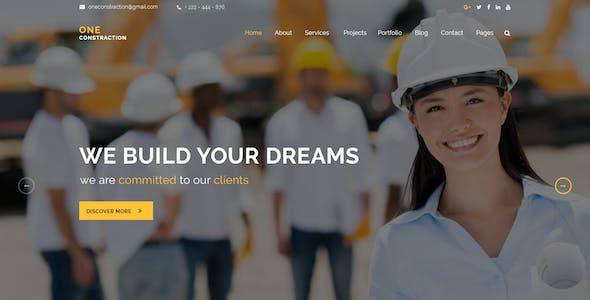 ONE Construction _ Construction and Building Business