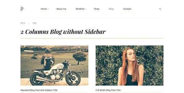 P Dojo - Photography and Portfolio WordPress Theme