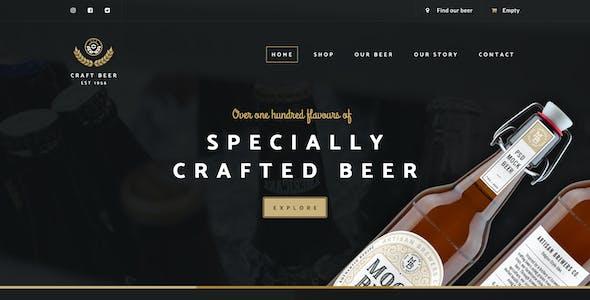 Craft Beer Nation PSD