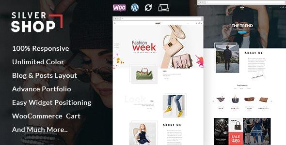 Silver Shop - Multipurpose WooCommerce Theme - WooCommerce eCommerce