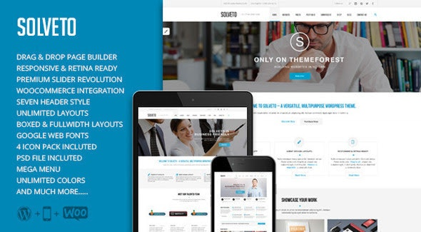 Solveto - Multi-Purpose Business Theme - Business Corporate