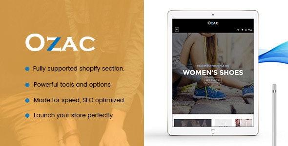 Ap Ozac Sections Shopify Theme - Fashion Shopify