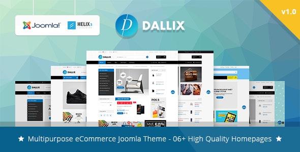 Vina Dallix - Multipurpose Joomla & VirtueMart Template - VirtueMart Joomla