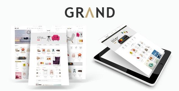Grand - Furniture HTML Template - Shopping Retail
