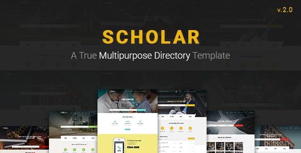 Scholar - Multipurpose Directory Template - Business Corporate