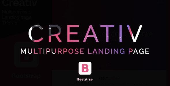 Creativ- Landing Page Multipurpose Theme - Landing Pages Marketing