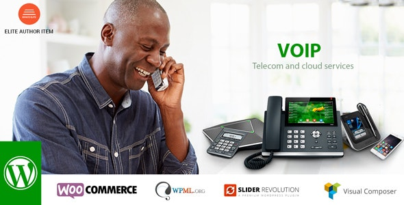 VOIP - Telecom and cloud services - Business Corporate
