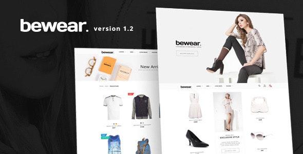 Fashion Responsive Shopify Theme - Bewear - Fashion Shopify