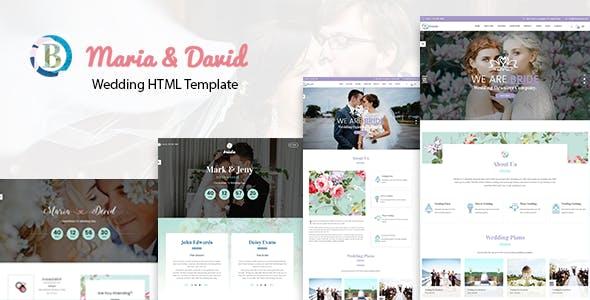 Bride - Wedding Responsive HTML Template