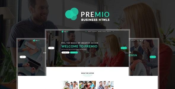 Premio - Creative Business HTML5 Template - Creative Site Templates