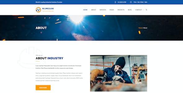 Nijmegan : Factory PSD Template