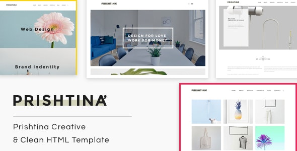 Prishtina | The Multi-Purpose HTML5 Template - Creative Site Templates