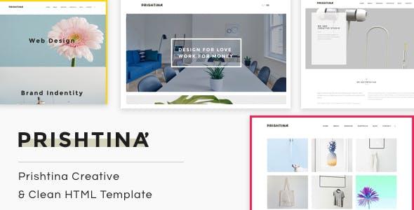 Prishtina | The Multi-Purpose HTML5 Template