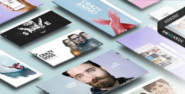 Animo – Creative & Clean Multi-Purpose WordPress Theme - Portfolio Creative