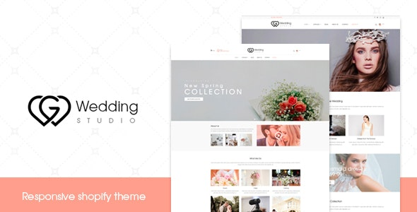 Wedding - Responsive Shopify Theme - Shopify eCommerce