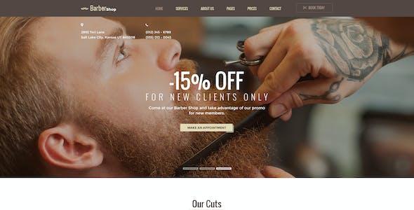 Hair Salon - Beauty PSD Template