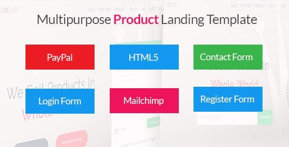 Docket - Multipurpose Product Landing Template - Landing Pages Marketing