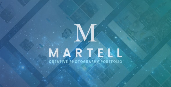 Martell - Photography Portfolio Template - Creative Site Templates