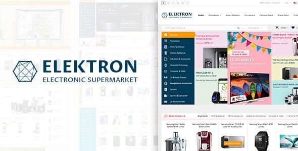 Elektron - Multi-Purposes Electronics PSD Template