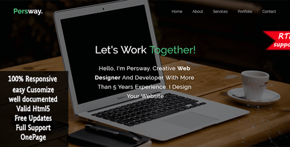 Persway - Responsive Personal Template