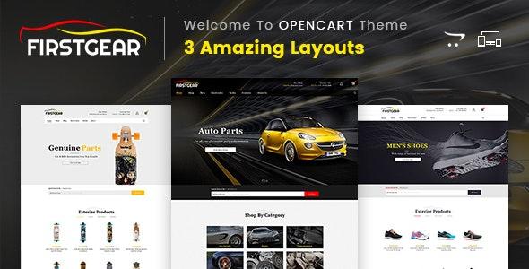 Firstgear - Multipurpose OpenCart Theme - Shopping OpenCart