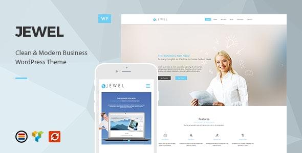 Jewel - Responsive Business WordPress Theme - Business Corporate