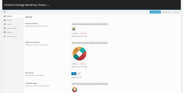 FirstOne – Responsive OnePage WordPress Theme
