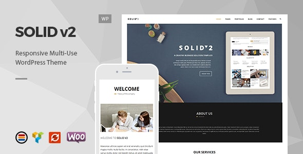 Solid – Responsive Business WordPress Theme - Business Corporate