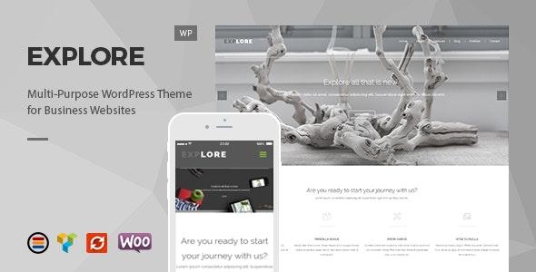 Explore – Responsive Business WordPress Theme - Business Corporate