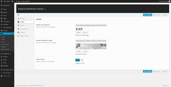 Explore – Responsive Business WordPress Theme