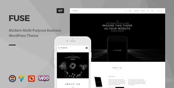 Fuse - Responsive Business WordPress Theme - Business Corporate