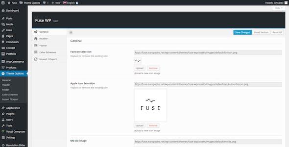 Fuse - Responsive Business WordPress Theme