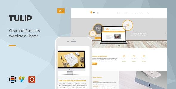 Tulip - Responsive Business WordPress Theme - Business Corporate