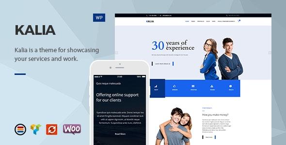 Kalia - Modern Business WordPress Theme - Business Corporate
