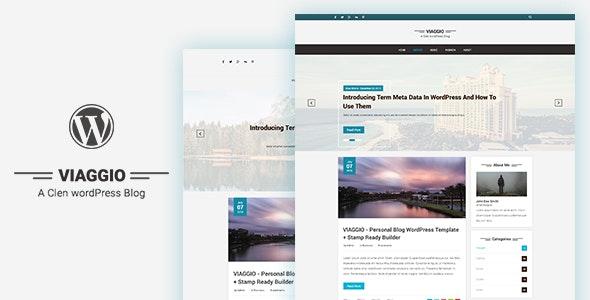 Viaggio - Personal WordPress Blog Theme - Personal Blog / Magazine