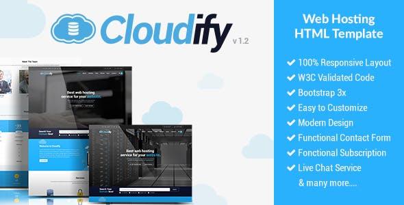 Cloudify - Web Hosting HTML Template