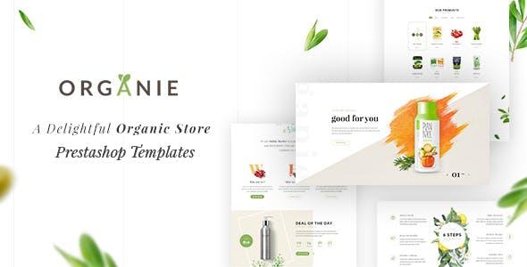 Organie - A Delightful Organic Store eCommerce Prestashop Theme V1.6 & V1.7