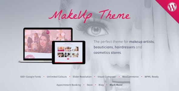 MakeUp - Beauty WordPress Theme