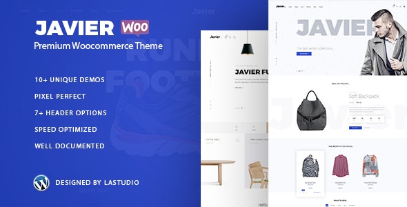 Javier - Modern WooCommerce Theme - WooCommerce eCommerce