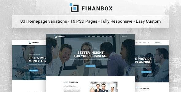 Finanbox | Mutil-Concept Business & Financial HTML5 Template - Business Corporate