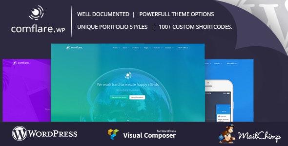 Comflare - Multipurpose WordPress Theme - Corporate WordPress