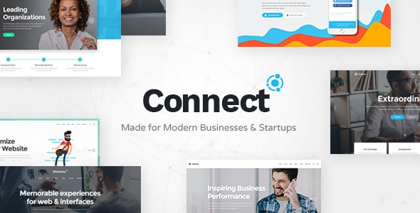Connect - Software Company Theme - Business Corporate