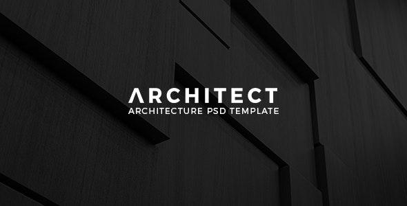 Architect - Architecture PSD Template - Creative Photoshop