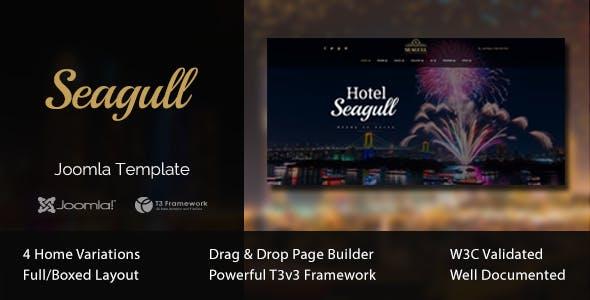 Seagull - Hotel & Resort Joomla Template