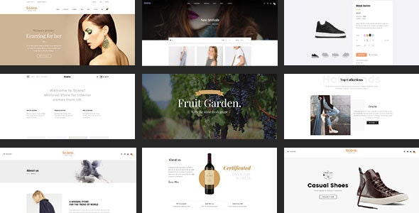 SCARA - Multipurpose HTML Template for Online Store - Retail Site Templates