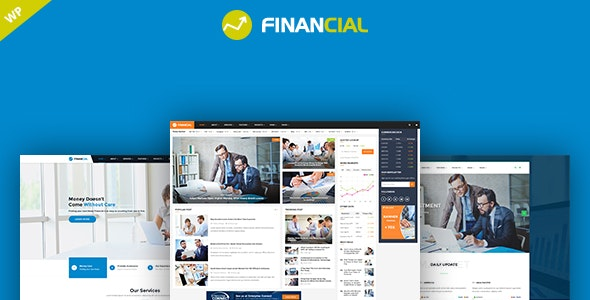 Financial - Business & Consulting WordPress Theme - Business Corporate