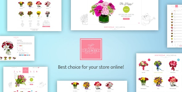 Flower Responsive Shopify Theme - Flowerify - Shopping Shopify