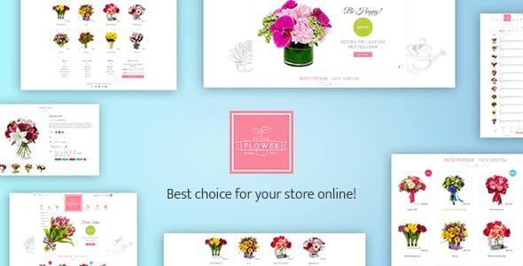 Flower Responsive Shopify Theme - Flowerify