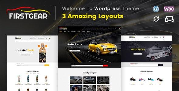 FirstGear - Multipurpose WooCommerce Theme - WooCommerce eCommerce